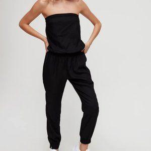 Talula Tabata Strapless Jumpsuit Black XXS